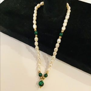 """Creations 9"""" Pearl Anklet NWT"""